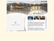 Tablet Preview of hotelrazgorsek.si